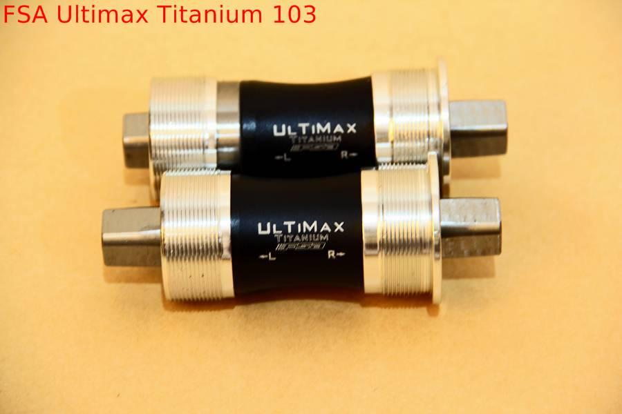 Bottom Bracket FSA Ultimax Titanium 68 x 103mm | [AllFixed JAKARTA]